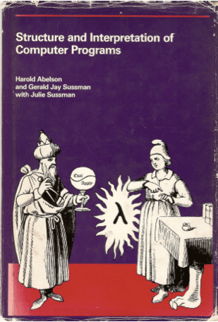 Book cover of Structure and Interpretation of Computer Programs