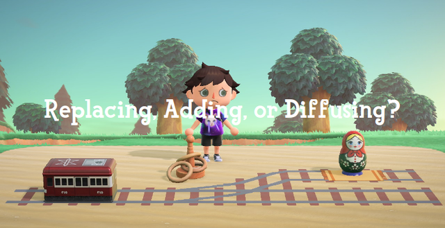 'Replacing, Adding, or Diffusing?': the trolley problem re-enacted with in-game items